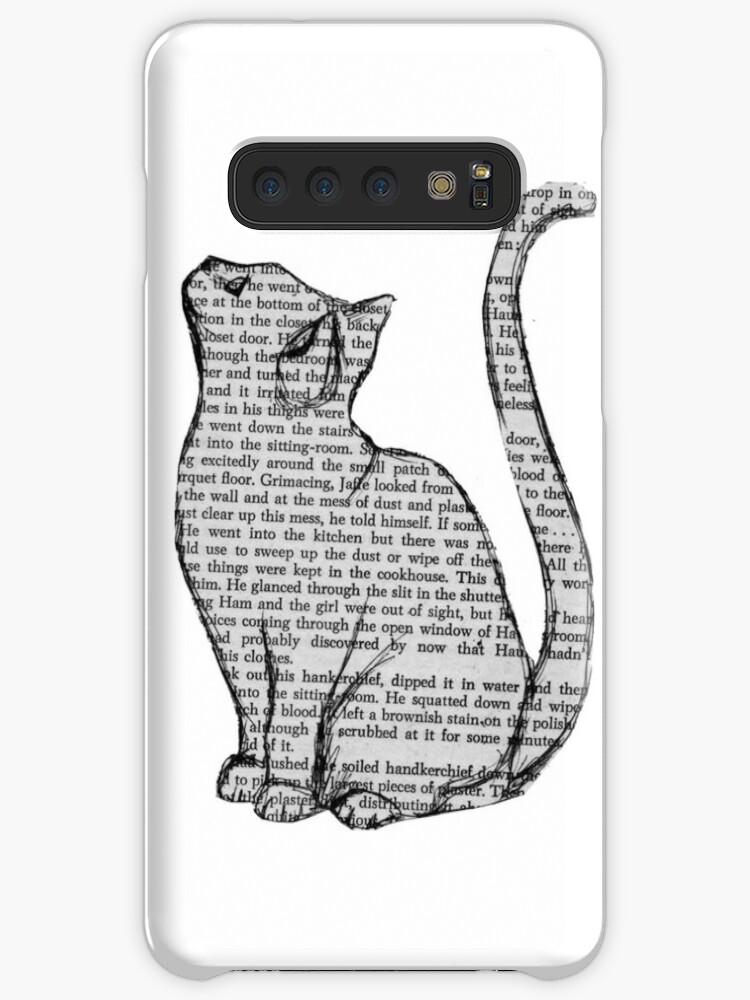 Bücher und Katzen und Bücher und Katzen von Audrey Metcalf
