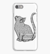 books and cats and books and cats iPhone Case/Skin