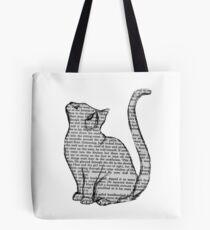 Bolsa de tela libros y gatos y libros y gatos