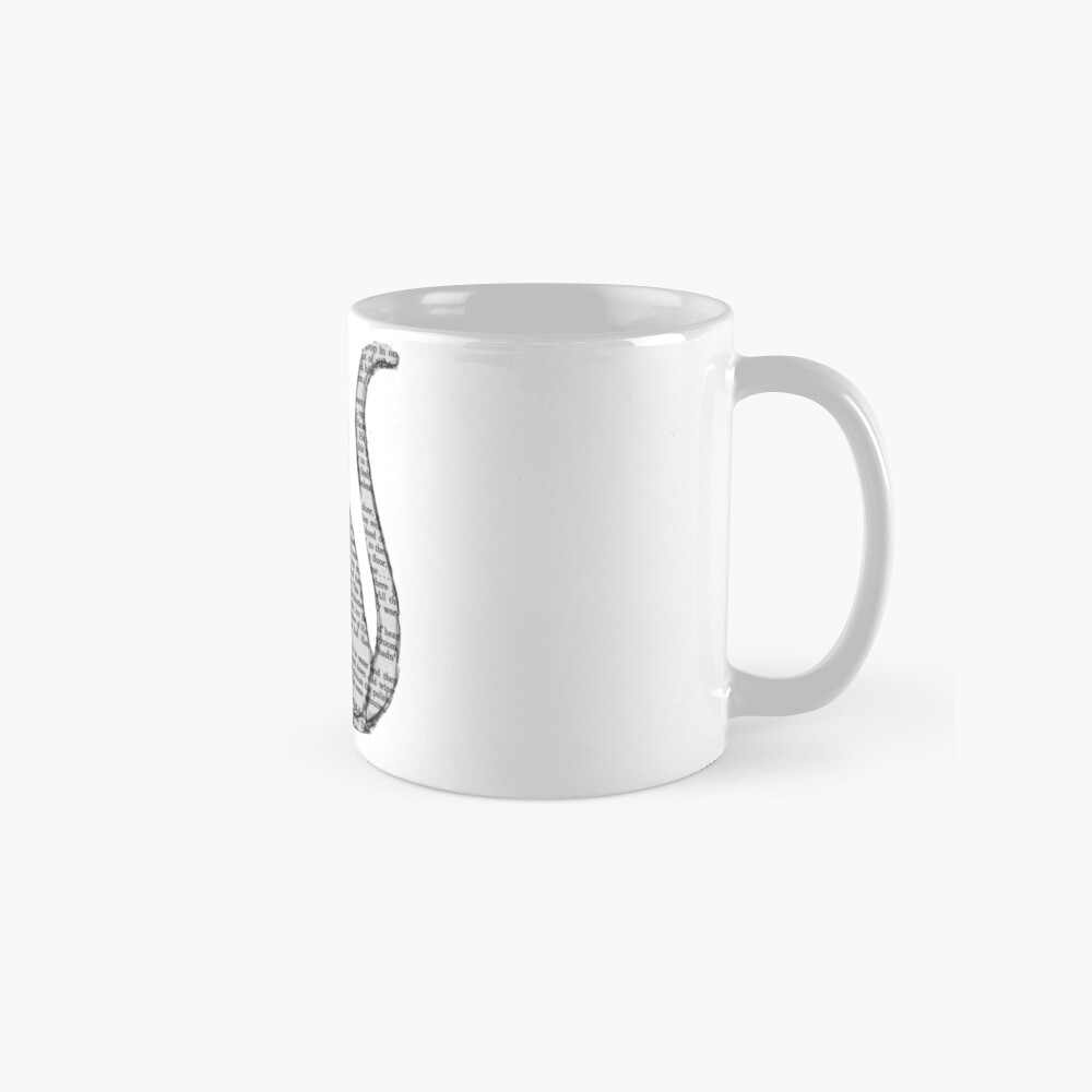 books and cats and books and cats Mug