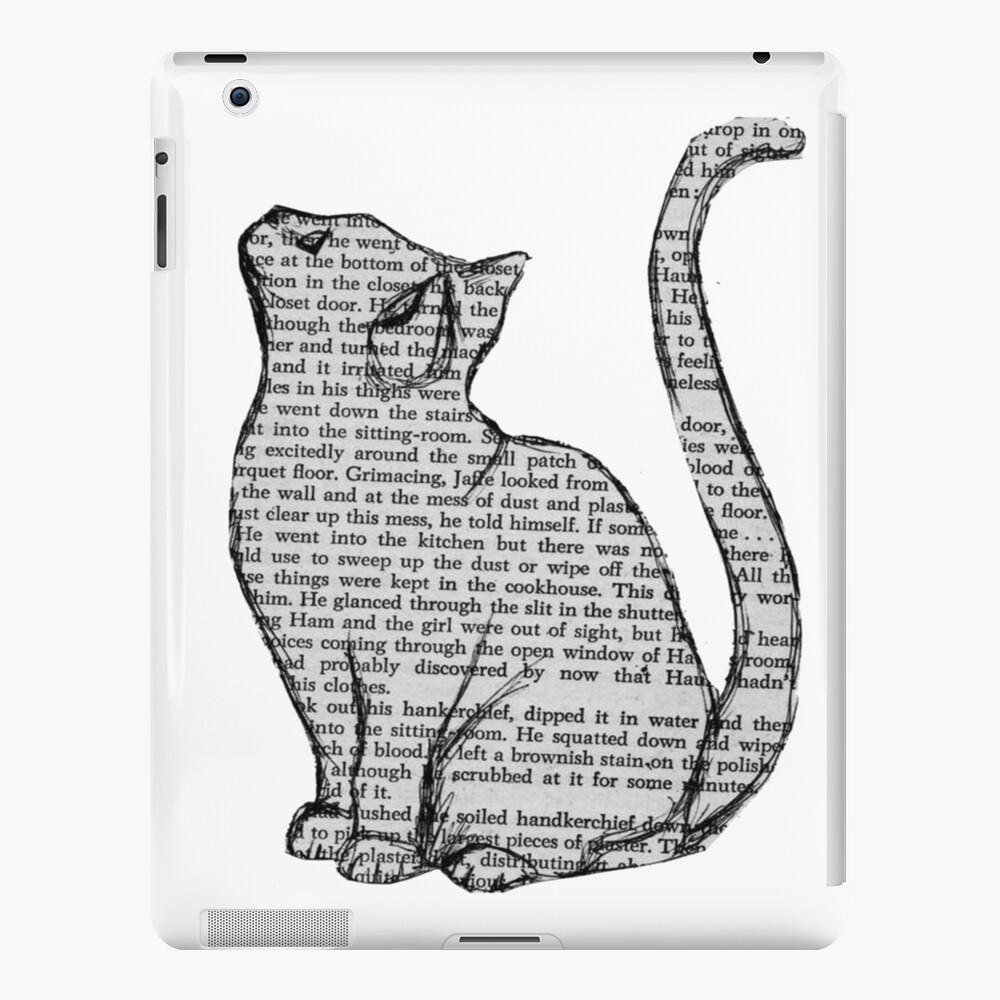 Bücher und Katzen und Bücher und Katzen iPad-Hülle & Skin