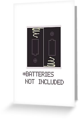 Miscellaneous - batteries not included by MelisaOngMiQin