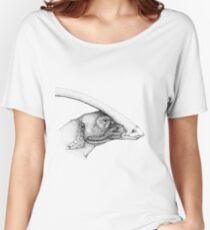 Hadrosaurs: Duck-Billed Dinosaur Women's Relaxed Fit T-Shirt