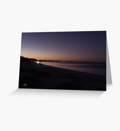 Geographe Dusk Greeting Card
