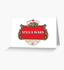 STELLA WARS Greeting Card