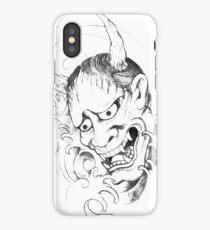 oni sketch iPhone Case