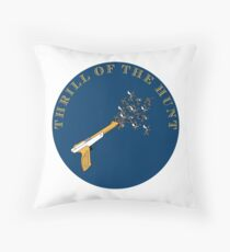 Trill of the Hunt Alternate Throw Pillow