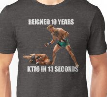 Conor McGregor 13 Second Knock Out Unisex T-Shirt