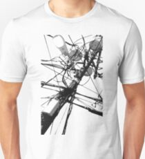 Lamp Post & Power Lines T-Shirt