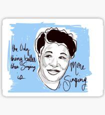 The Incredible Ella Fitzgerald  Sticker