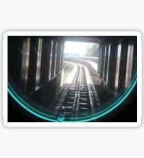 Tracks Sticker