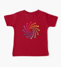 Circular Spectrum Pattern Kids Clothes