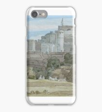 Francis Towne,  WINDSOR AND ST. GEORGE'S CHAPEL iPhone Case/Skin