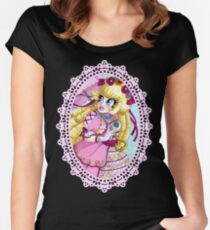 Lolita Princess Peach Women's Fitted Scoop T-Shirt