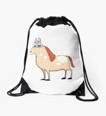 horse, animal farm Drawstring Bag