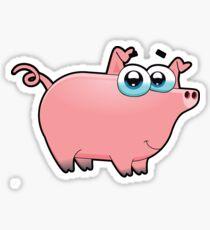 pig, animal farm Sticker