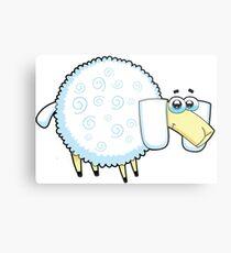 sheep, animal farm Metal Print
