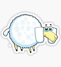 sheep, animal farm Sticker