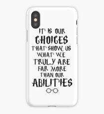 Dumbledore quote iPhone Case