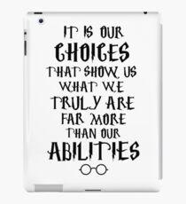 Dumbledore quote iPad Case/Skin