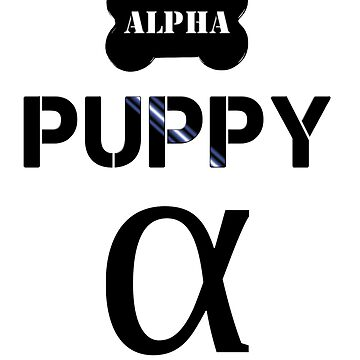 Alpha Puppy by pupsparks92