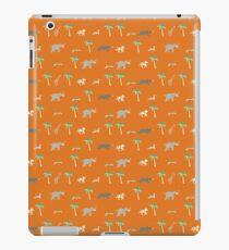 Pattern of The Darjeeling Limited & Hotel Chevalier iPad Case/Skin
