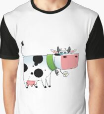 cow animal farm for kid Graphic T-Shirt