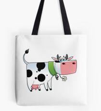 cow animal farm for kid Tote Bag