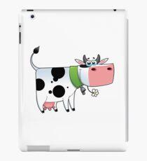 cow animal farm for kid iPad Case/Skin