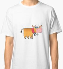 cow animal farm for kid Classic T-Shirt