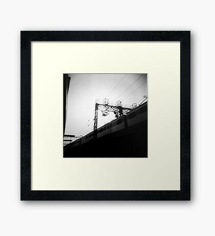 latent quarter Framed Print