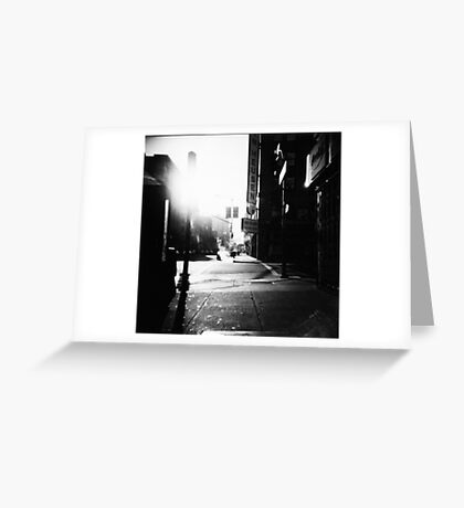 dreaming ties all mankind together Greeting Card