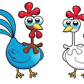chicken animal farm and kid by kidshop