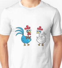 chicken animal farm and kid Unisex T-Shirt