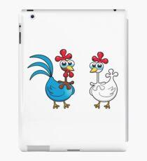 chicken animal farm and kid iPad Case/Skin