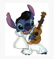 Elvis stitch Photographic Print