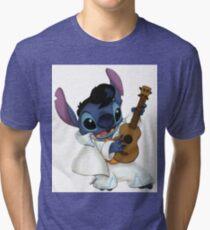 Elvis stitch Tri-blend T-Shirt