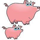 pig an piggy animal farm for kid by kidshop