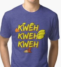 Chocobo (Final Fantasy) - Kweh! Tri-blend T-Shirt