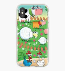 Animal farm iPhone Case