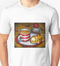 Still life with red touring bike T-Shirt