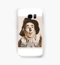 Wizard of Oz Scarecrow Samsung Galaxy Case/Skin