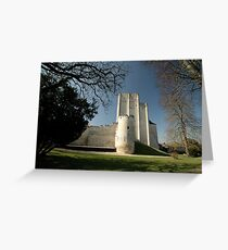 Donjon, Medieval City, Loches, France, Europe 2012 Greeting Card
