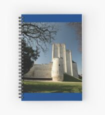 Donjon, Medieval City, Loches, France, Europe 2012 Spiral Notebook