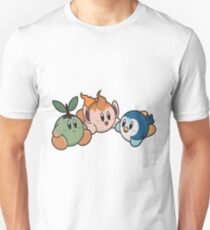 Kirby Pokémon Starters T-Shirt