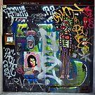 Colourful Grafitti prints by sledgehammer