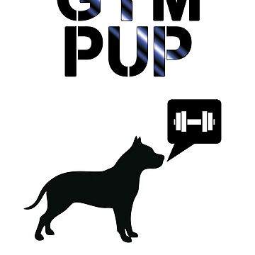 Gym Pup by pupsparks92