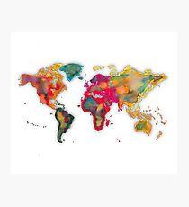 World map 2027 Photographic Print