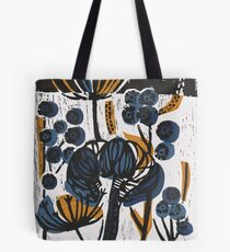 Natural Form Relief Print Tote Bag