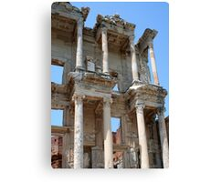 Library of Celsus, Ephesus Ancient City, Turkey Canvas Print